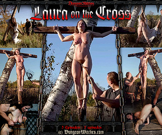 Laura on the Cross